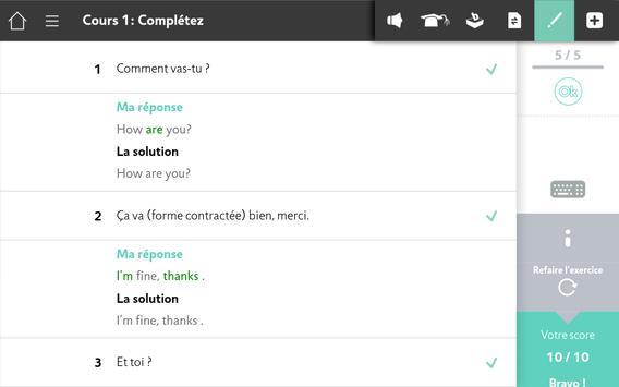 Apprendre l'Anglais avec Assimil screenshot 19