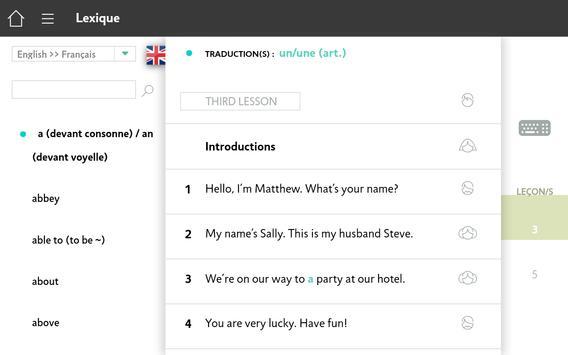 Apprendre l'Anglais avec Assimil screenshot 20