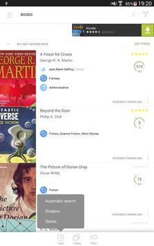 Bookari Free Ebook Reader apk screenshot