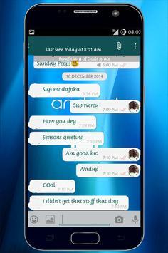 WA Mod Biru screenshot 2
