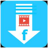 ikon Video Downloader for Facebook