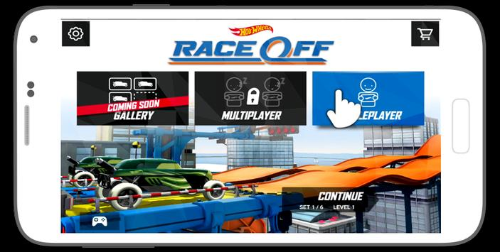 Guide For Hot Wheels Race Off poster
