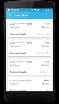 Narmada Travels apk screenshot