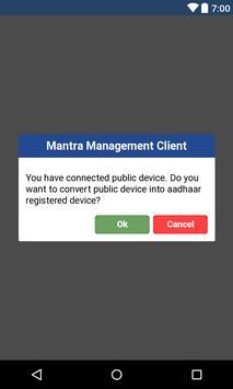 Mantra Management Client apk screenshot
