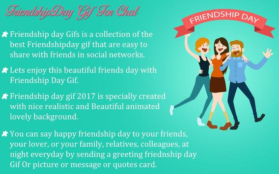 Friendship Day GIF 2017 screenshot 7