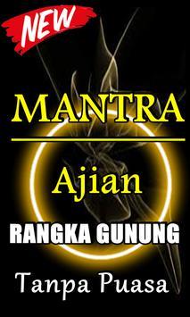 DOA AJIAN RANGKA GUNUNG TANPA PUASA TERLENGKAP poster
