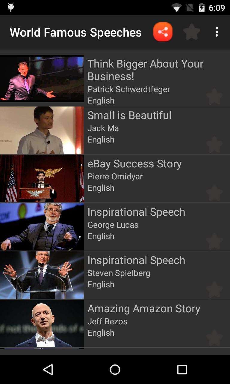 World Famous Speeches for Android - APK Download