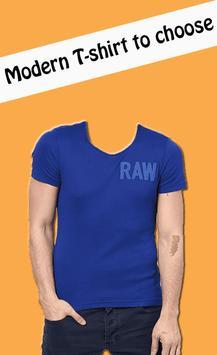 Man T shirt fashion photo suit apk screenshot