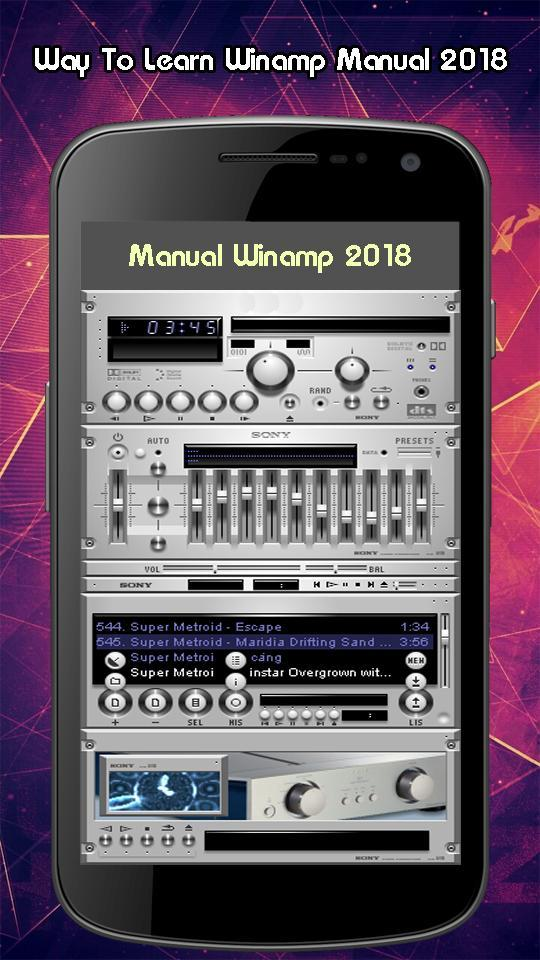 Manual Winamp Equalizer 2018 for Android - APK Download