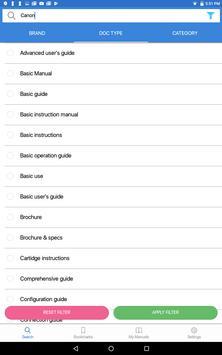Manualslib - User Guides & Owners Manuals library screenshot 13