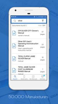Manualslib - User Guides & Owners Manuals library screenshot 1