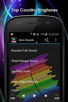 Top Country Ringtones Free screenshot 12