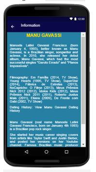 Manu Gavassi - Song & Lyrics apk screenshot