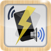 Vibrate then Ring with Flash icon