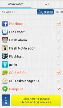 Vibrate then Ring with Flash screenshot 2