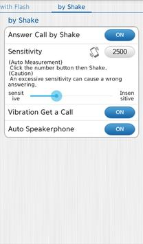 Vibrate then Ring with Flash screenshot 5