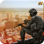 Target Sniper City War 3D icon