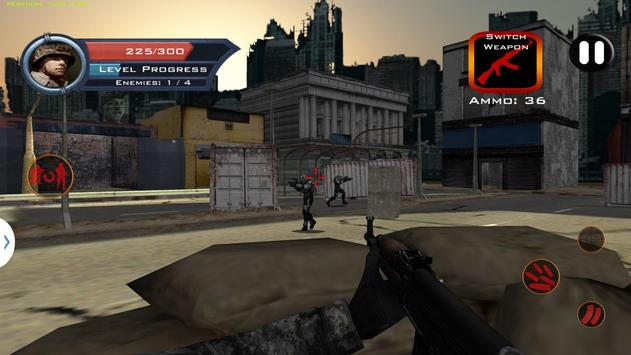 Target Sniper City War 3D screenshot 14