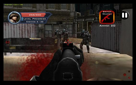 Target Sniper City War 3D screenshot 19