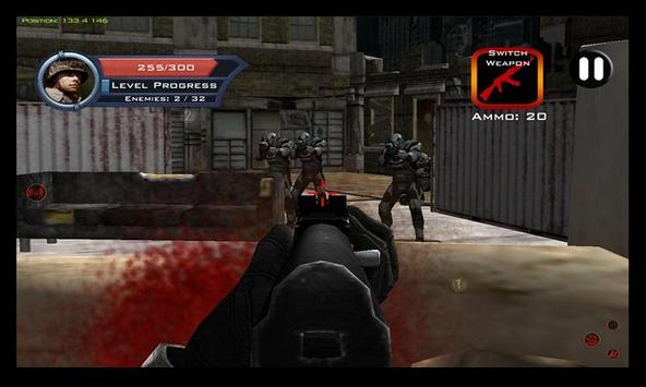 Target Sniper City War 3D screenshot 11