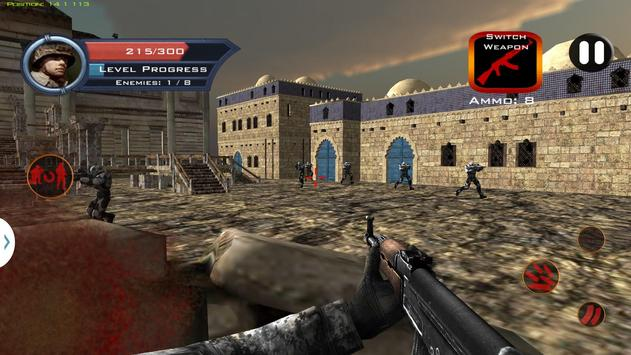 Target Sniper City War 3D screenshot 1