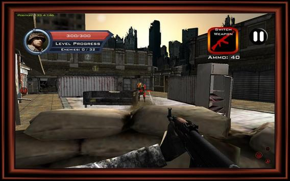 Target Sniper City War 3D screenshot 20