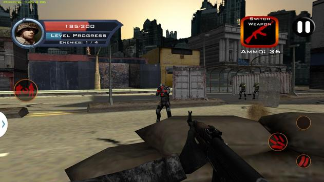 Target Sniper City War 3D screenshot 6