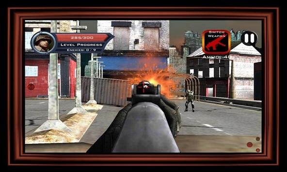 Target Sniper City War 3D screenshot 9