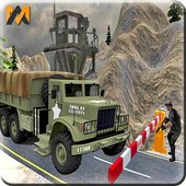 Drive Army Check Post Truck icon