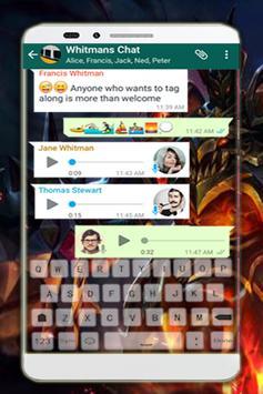 ML Keyboard For Legends screenshot 1