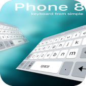 Keyboard for phone 8 icon