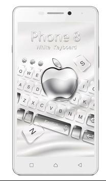 Keyboard for phone 8 poster