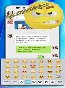 Photo Keyboard Theme For Messenger Lite screenshot 1