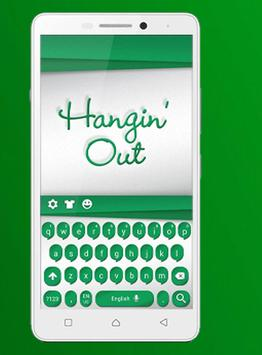 Keyboard themes for hangouts poster