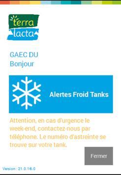 Mon App Terra Lacta poster