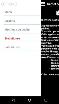 Carnet de pêche screenshot 2