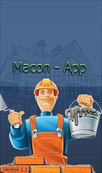 Macon-App poster