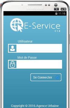 E-Service poster