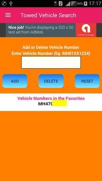 Mumbai Towed Vehicle Search screenshot 1