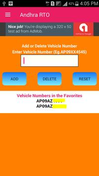 AP Vehicle Information screenshot 2