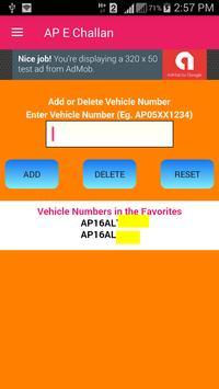 AP Challan (Traffic Police E Challan Fine) screenshot 1