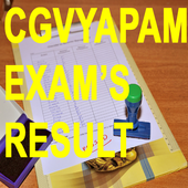 Chhattisgarh CGVYAPAM Exam Results App icon