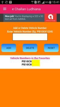 Traffic Challan Ludhiana / e Challan Ludhiana screenshot 1