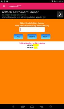 Haryana Vehicle Registration Details screenshot 4