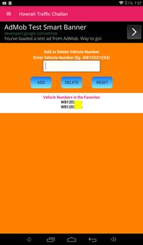 Howrah Traffic Challan/Howrah Traffic Case screenshot 4