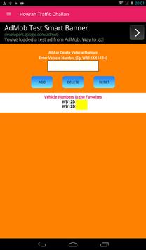 Howrah Traffic Challan/Howrah Traffic Case screenshot 7