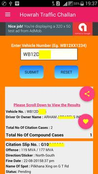 Howrah Traffic Challan/Howrah Traffic Case poster