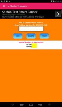 Telangana Traffic e Challan apk screenshot