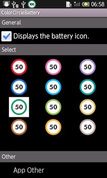 ColorCircleBattery poster