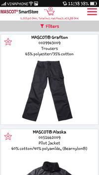 MASCOT® SmartStore apk screenshot